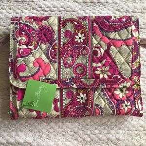 Vera Bradley Jewelry Folio in Paisley Meets Plaid